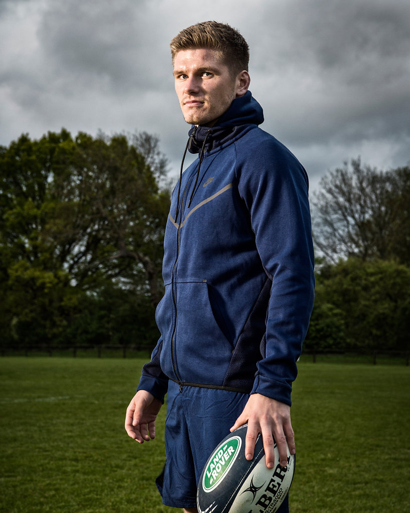 Owen Farrell for Land Rover