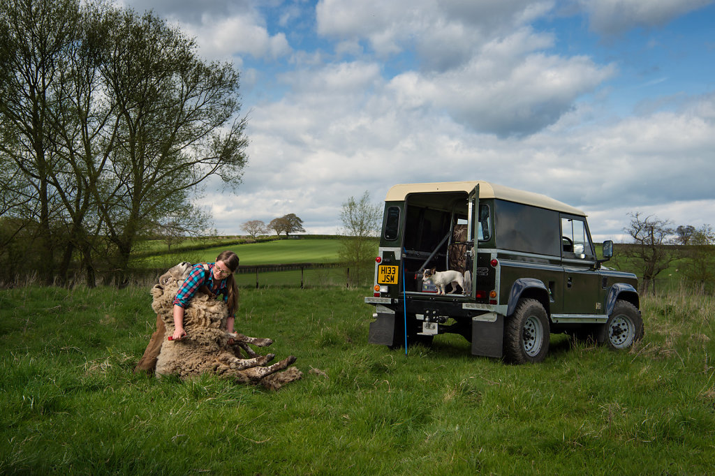 Emma Drinkall for the Land Rover Defender 'Icon' book