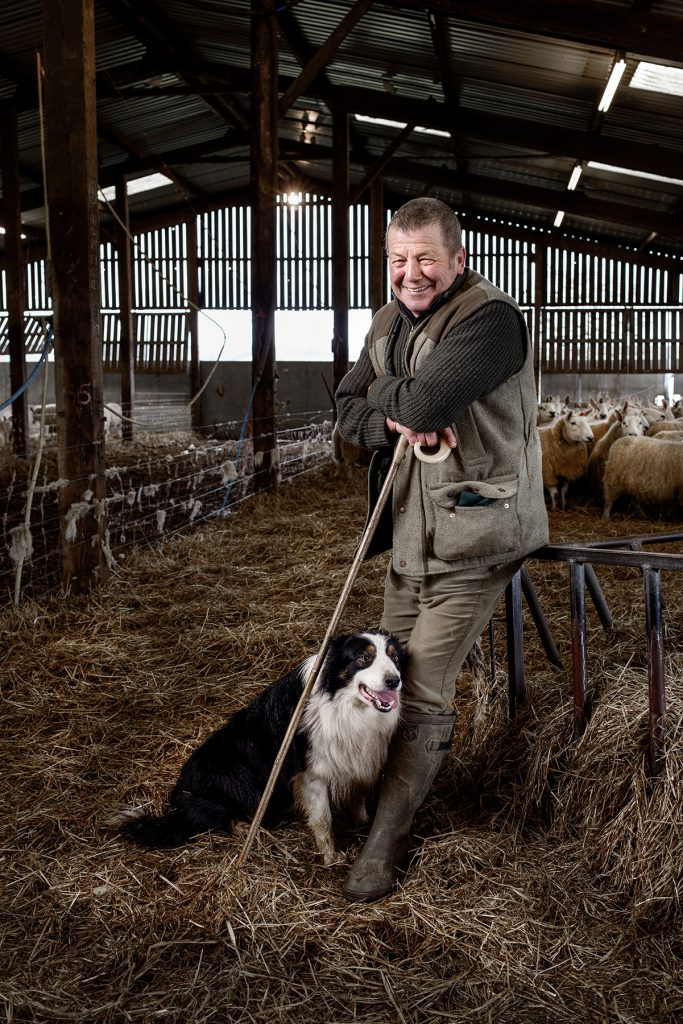 Andy Jackman photographed at Chadhurst Farm