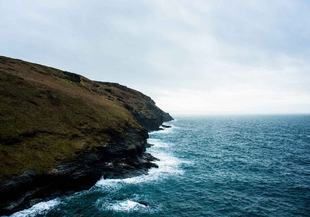 Atlantic View from Tintagel