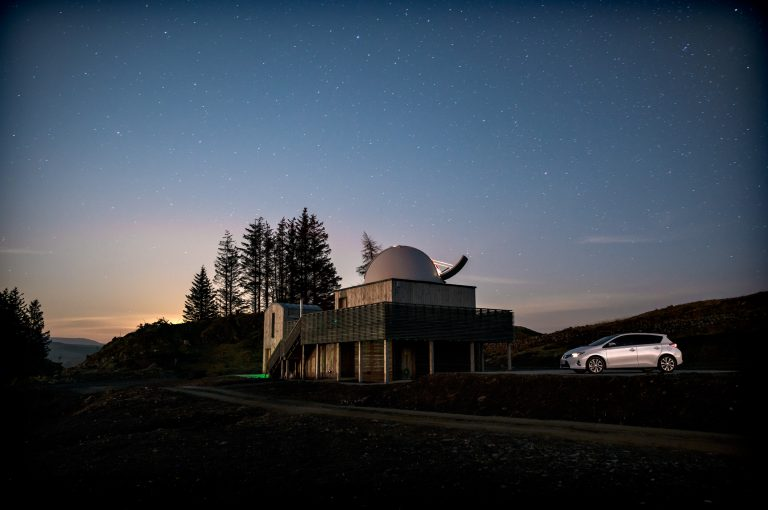 Toyota Auris, Dark Sky Observatory, Galloway Forest for This Way Magazine