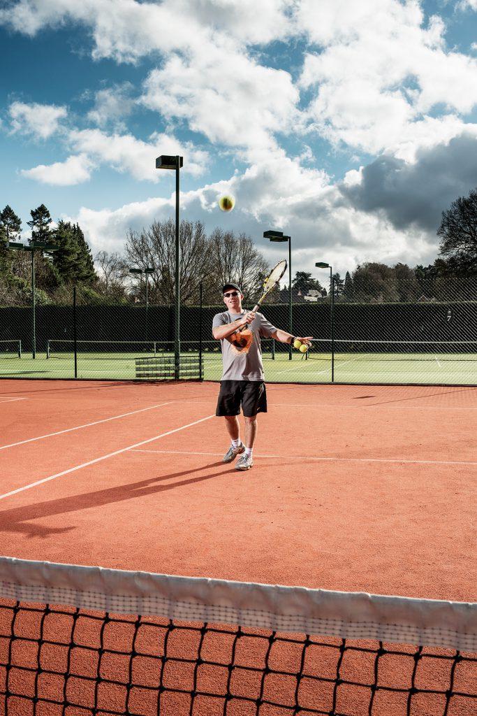 Brian Love, Dorking Tennis Club