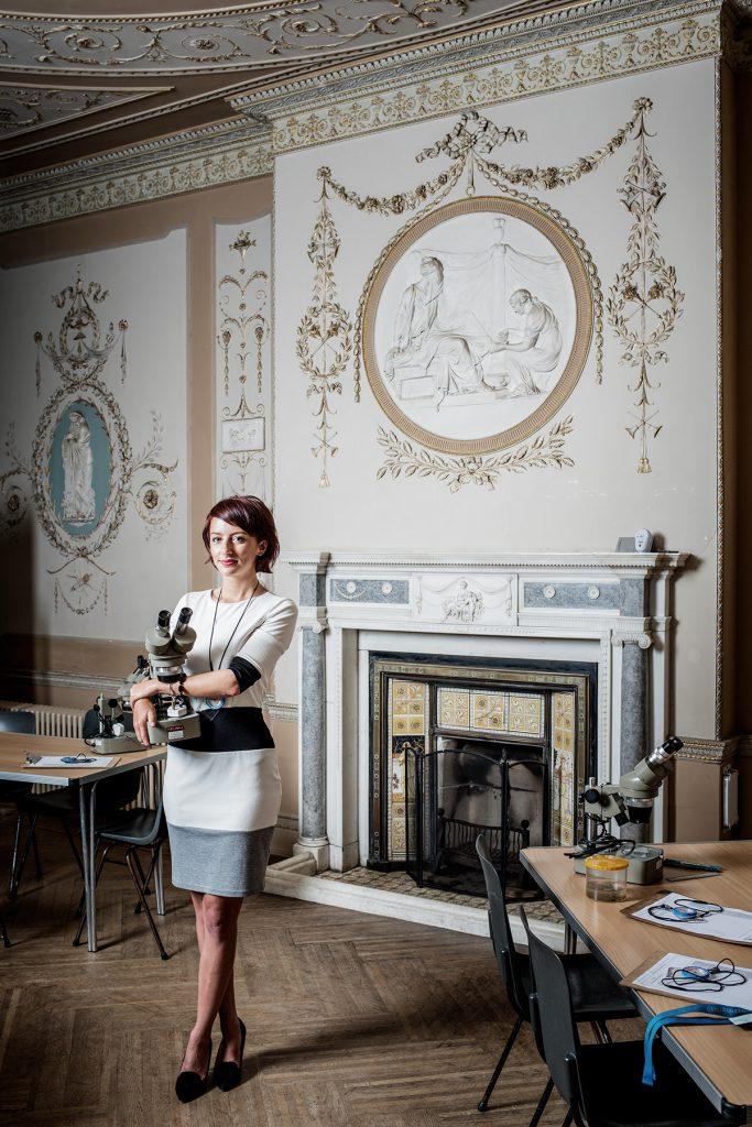 Chantal Noble photographed at Juniper Hall