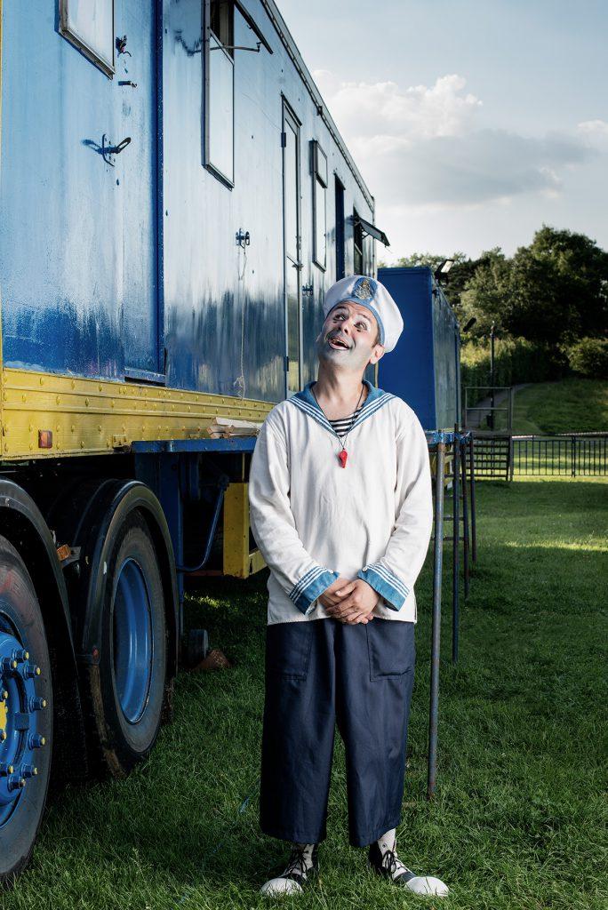 Clown Bonya photographed at Meadowbank