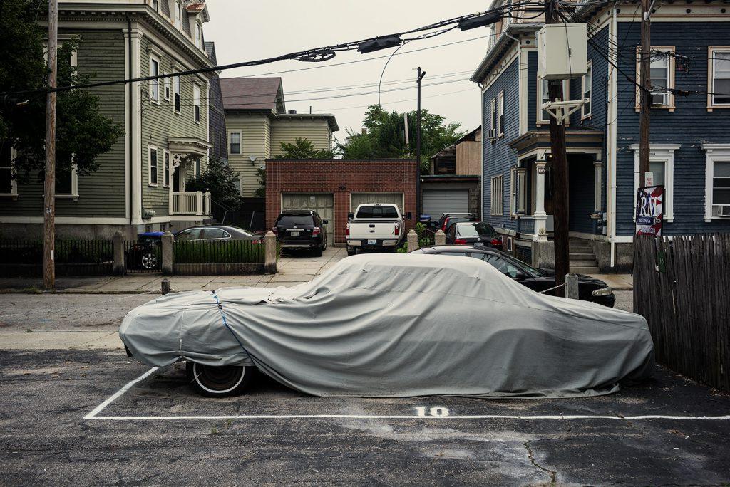 Covered Car, Providence, Massachusetts