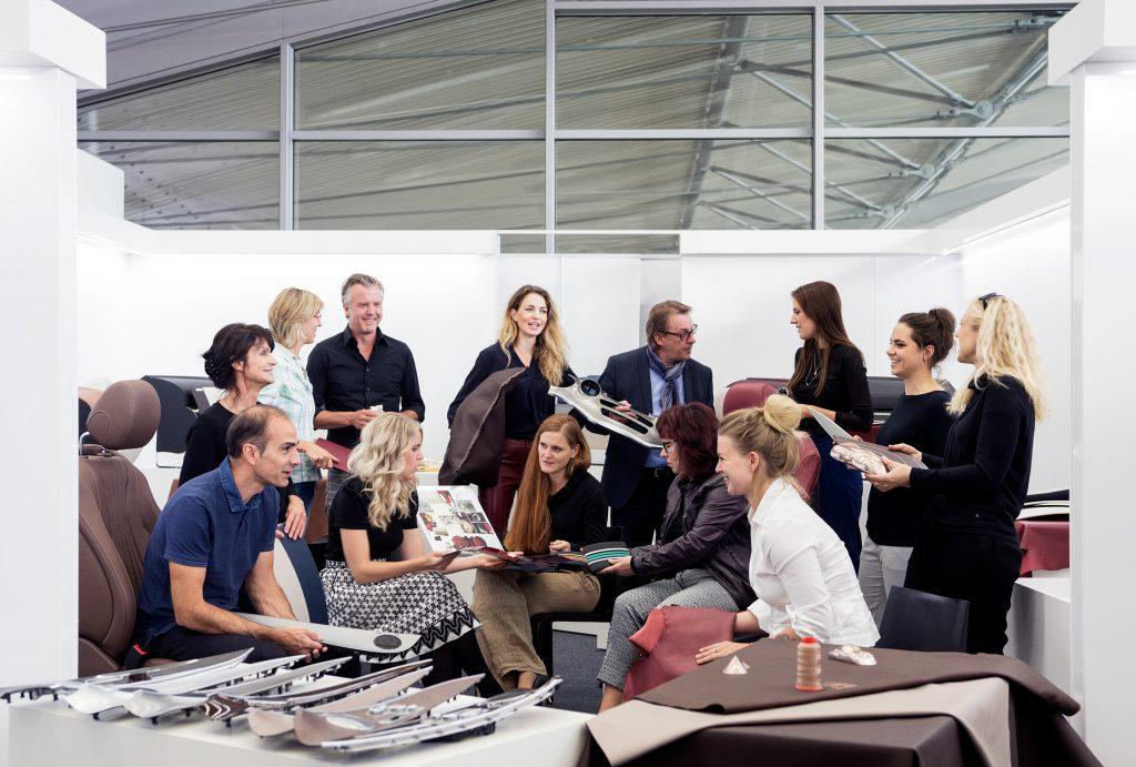 Interiors Team, Daimler, Sindelfingen for Global Design Travel Log