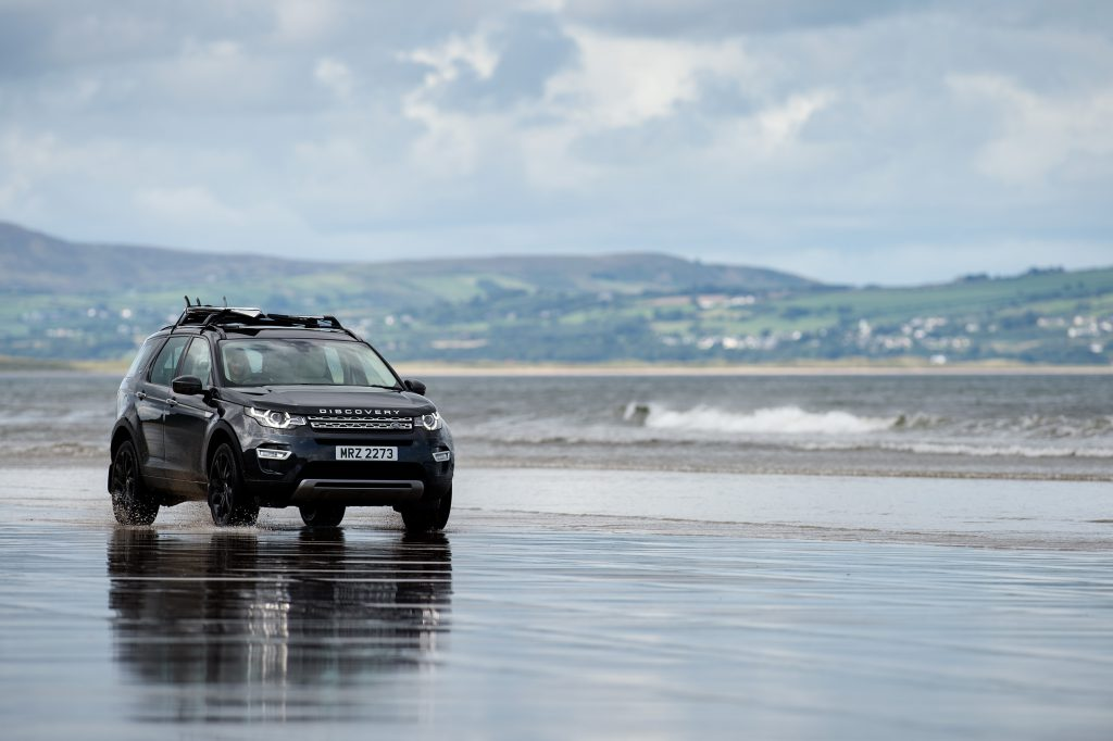 Discovery Sport, Benone Beach, Northern Ireland for Jaguar Land Rover