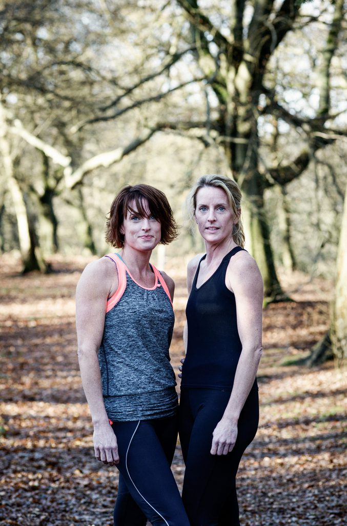 Sam and Lisa Edwards photographed in Abinger Roughs