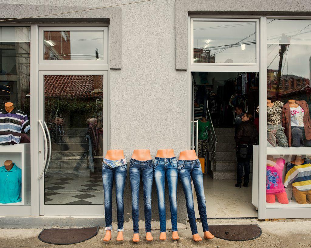 Shopfront, somewhere in Kosovo