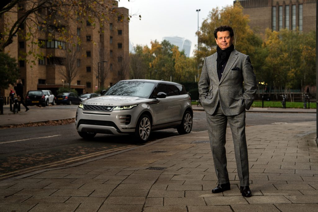 Gerry McGovern, CDO Land Rover