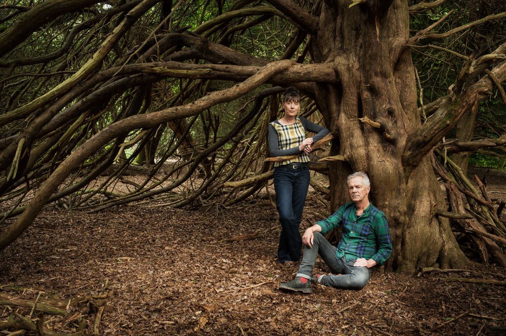 Heather Ackroyd and Dan Harvey, Multi Media Artists,  Newlands Corner