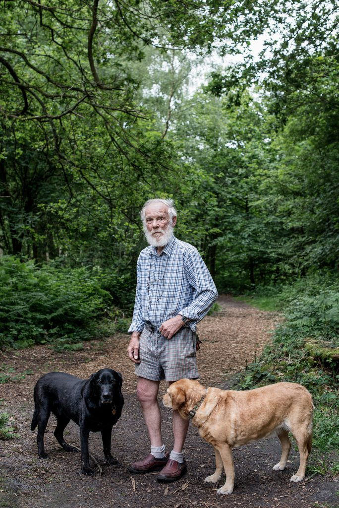Henry, photographed at Abinger Roughs