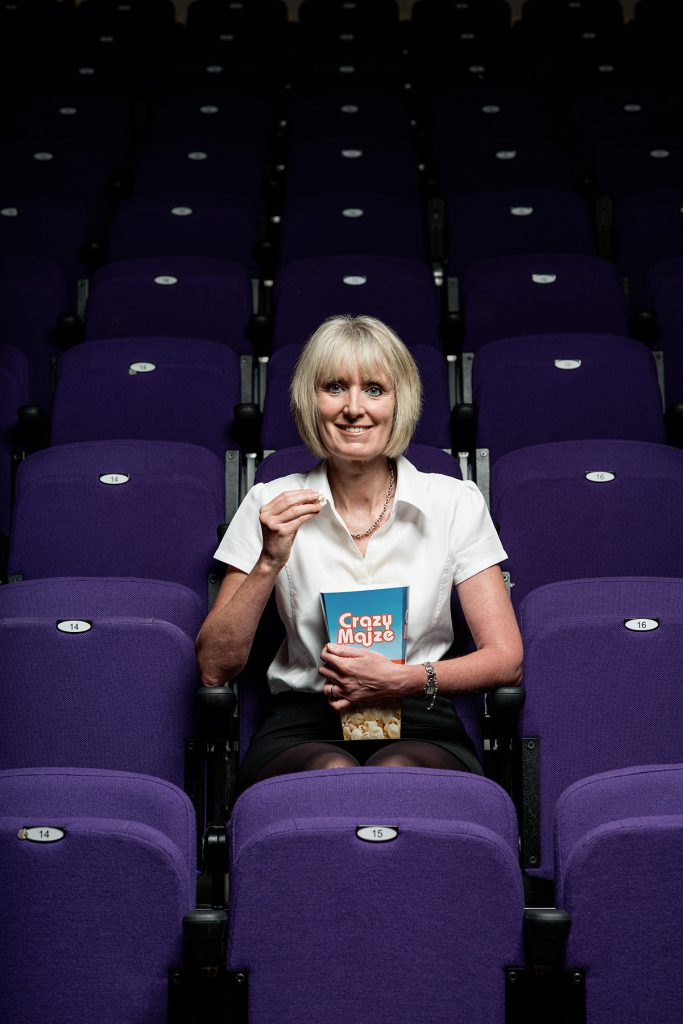 Jane Conway photographed at Dorking Halls