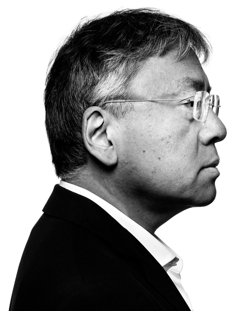 Author Kazio Ishiguro for Shortlist