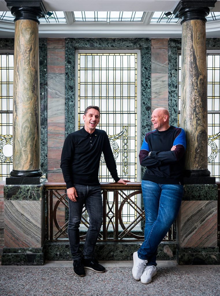 Gary Neville & Tom Kerridge for British GQ Magazine