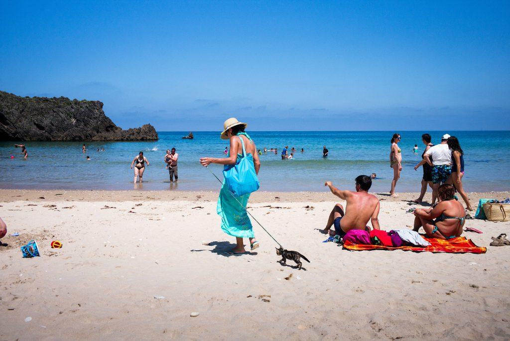 Playa de San Antolin, Asturius