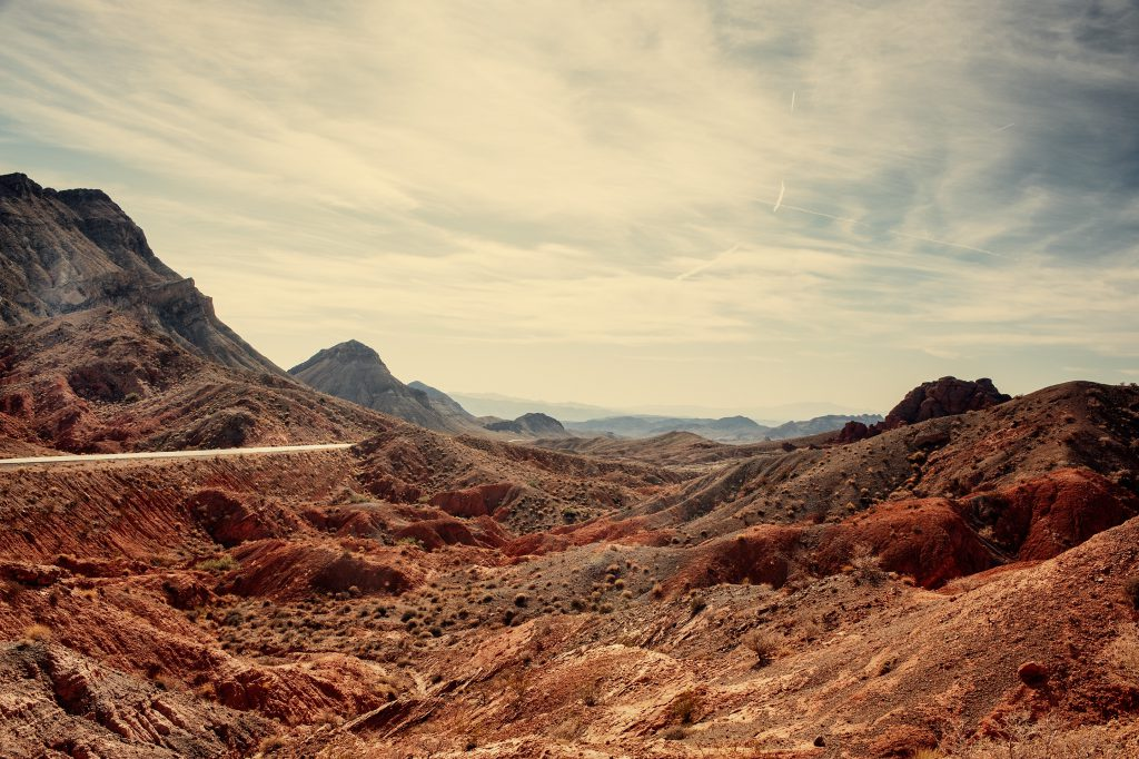 Road near Lake Mead, Nevada
