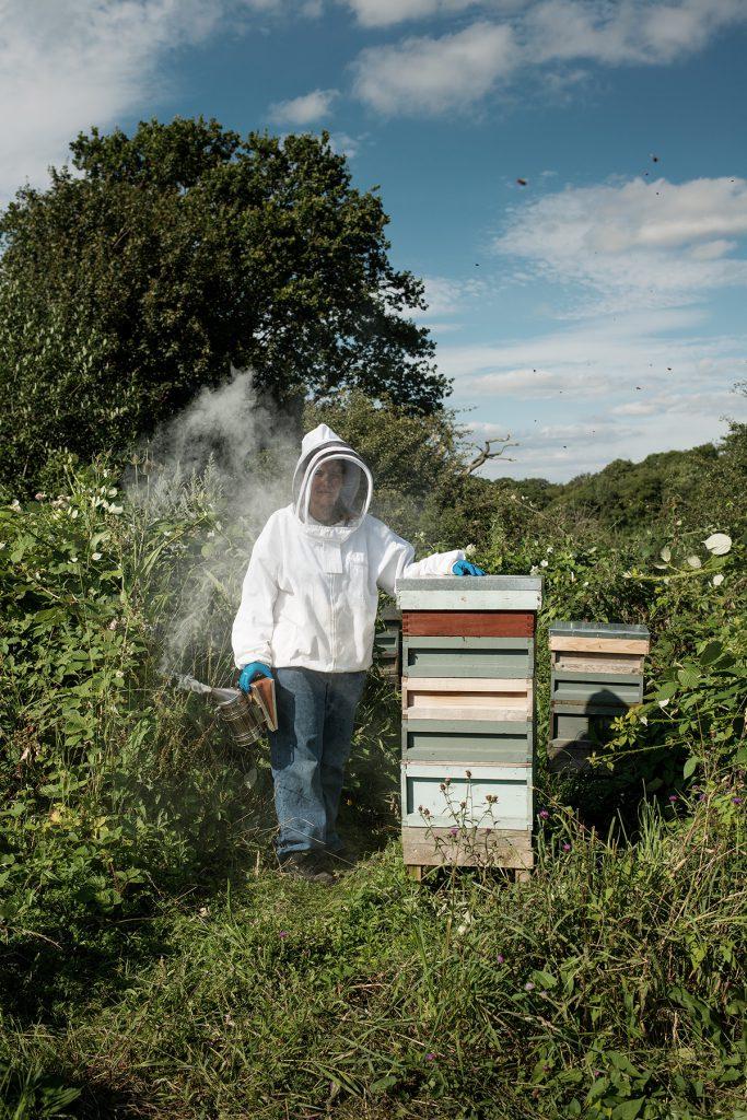 Libby Dale photographed at Aldhurst Farm