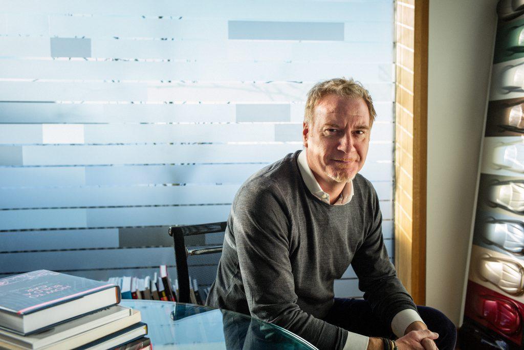 Marek Reichman, CDO of Aston Martin, photographed for Car Design Review
