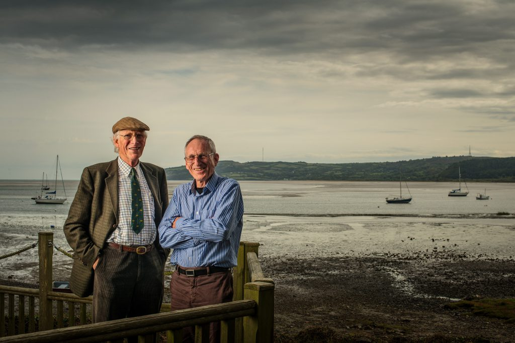 Nick & Stephen Wilks, Red Wharf Bay Anglesey, for Land Rovers 'Line In The Sand'
