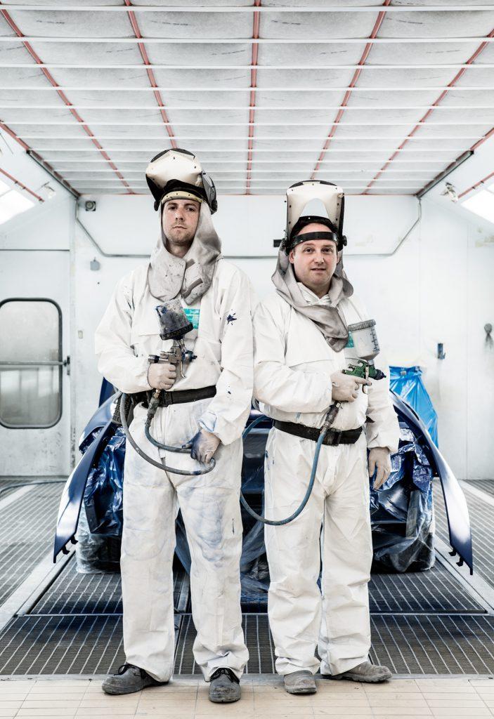Spray Painters, Jaguar Land Rover, Gaydon for JLR