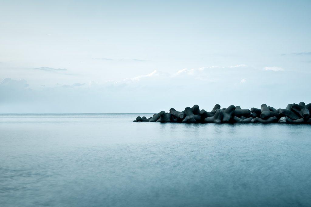 Sea Wall, Sea of Japan
