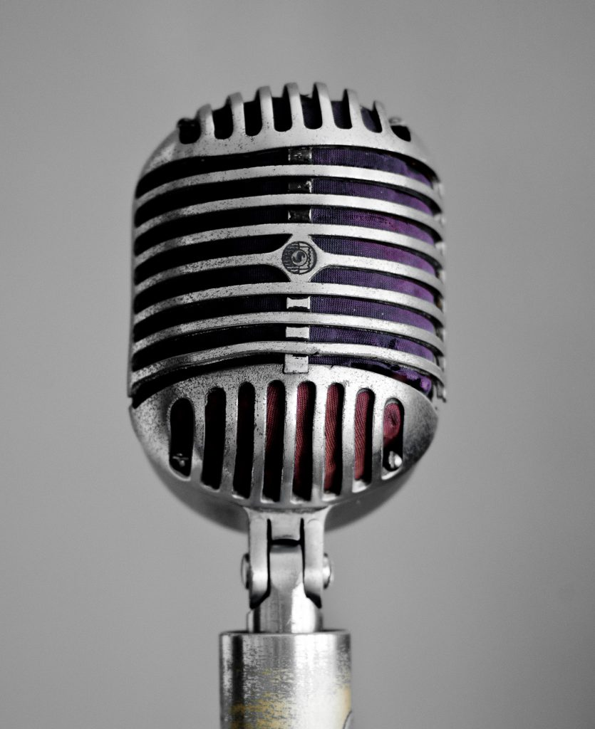 House Microphone at Sun Studios (used by Elvis, Carl Perkins and Howlin Wolf to name a few)