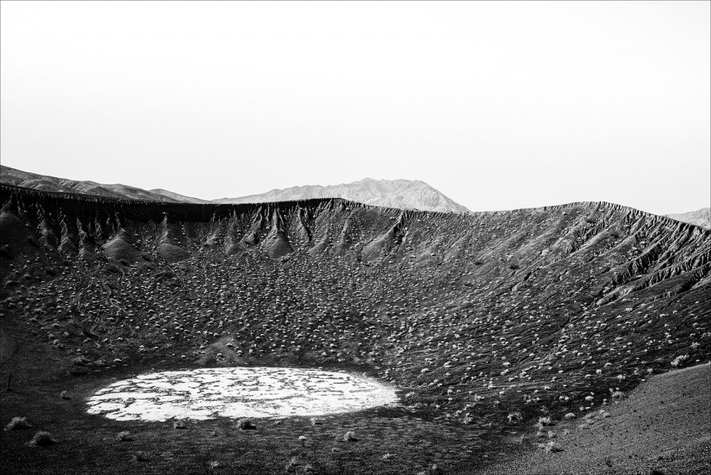 Ubehebe Crater, Death Valley, Nevada