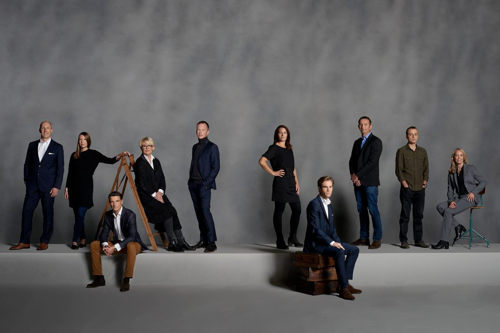 Volvo XC90 Designers, photographed in Gothenburg