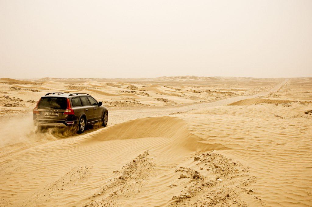 Volvo XC70, Empty Quarter, Oman for LIV Magazine