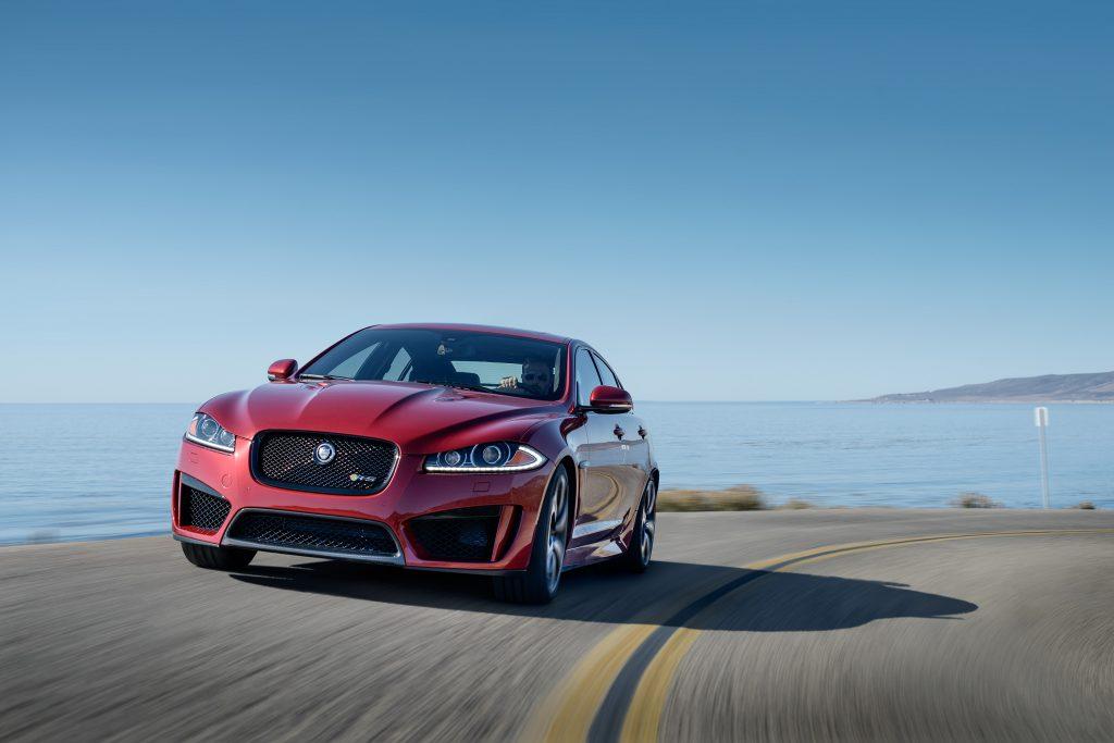 Jaguar XFR-S, Jalama Beach, California for Jaguars customer magazine