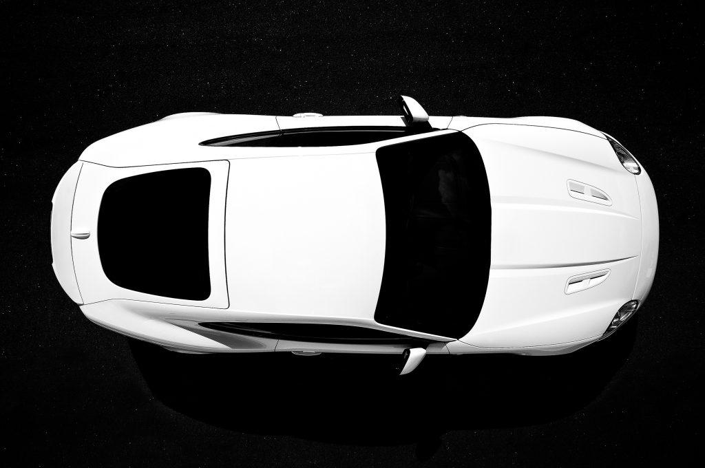 Jaguar XKRS photographed at Le Mans for Jaguars customer magazine
