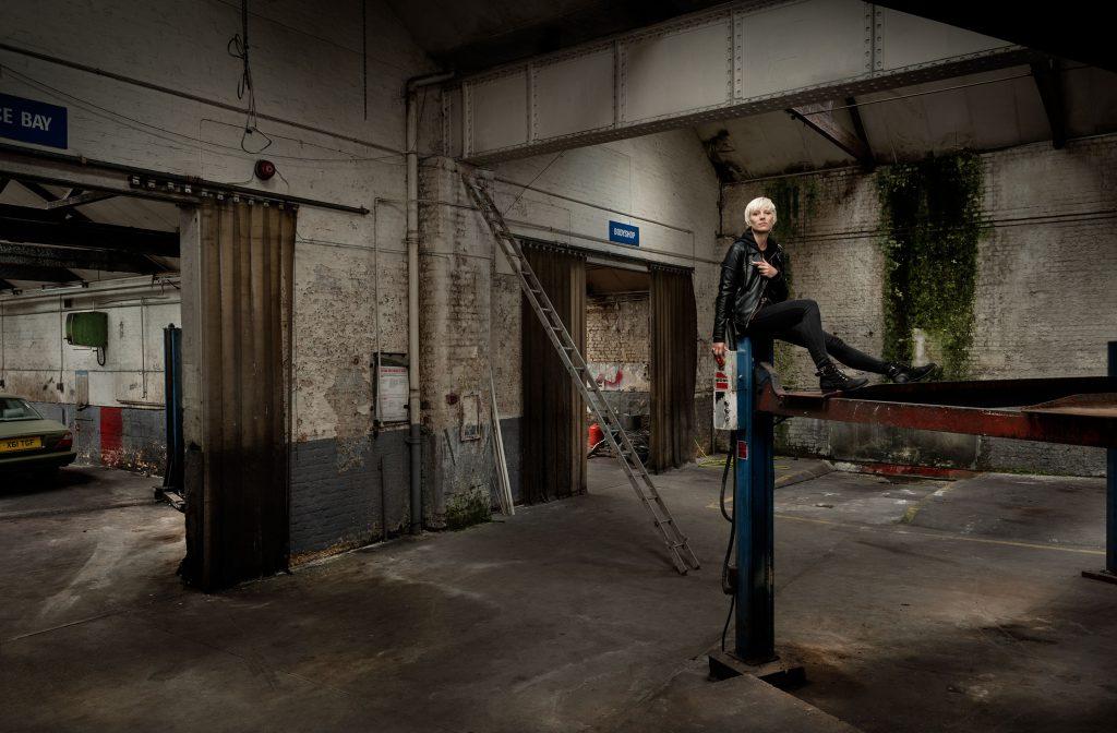 Zina, Street artist, West London